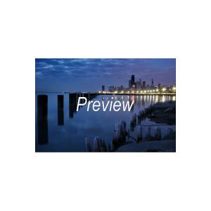 Lake Michigan at Dawn Photograph