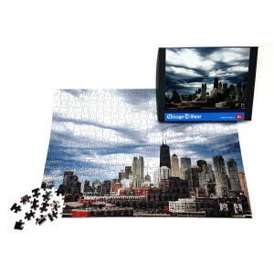 Chicago Skyline Jigsaw Puzzle   Chicago Gifts