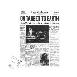 Chicago Tribune Custom Front Page Puzzle