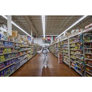 Sanitation at the Supermarket