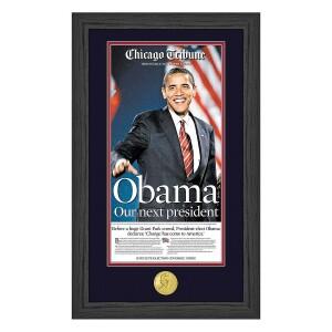 """Obama Our Next President"" Photo Mint"
