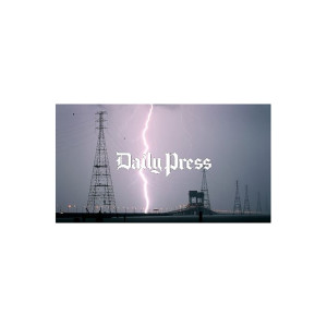 Hampton Roads Scenery: James River Bridge Lightning