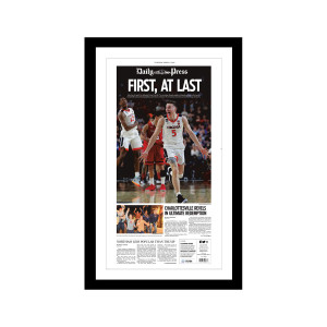 Virginia Cavaliers 2019 NCAA Championship Front Page Print