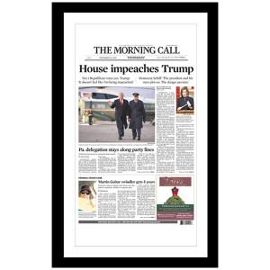 """House impeaches Trump"" 12/19/2019 Page Print"