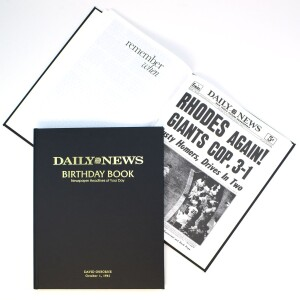 New York Daily News Birthday Book