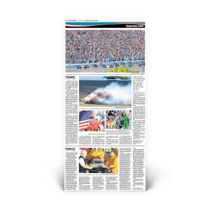 Daytona 500 2015: Sports Insert Page Reprint