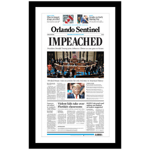 """""""IMPEACHED"""" 12/19/2019 Page Print"""