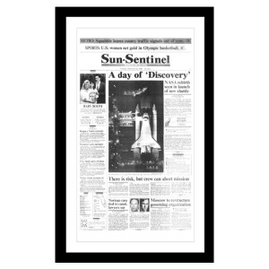 Sun Sentinel Page Print