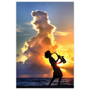 Sunrise & Sunset: Beach Saxophone