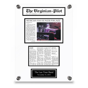 The Virginian-Pilot Custom Article Plaque