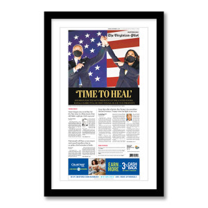 """""""Time to Heal"""" 11/8/20 Page Print"""