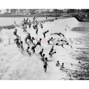 Passaic Falls Bathers