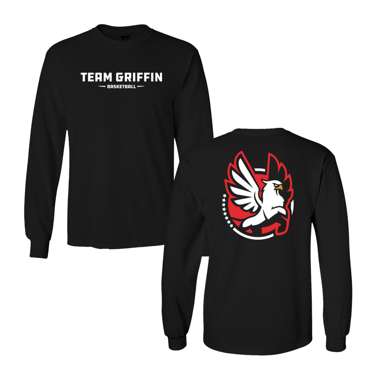 Team Griffin Long Sleeve Tee (Black)