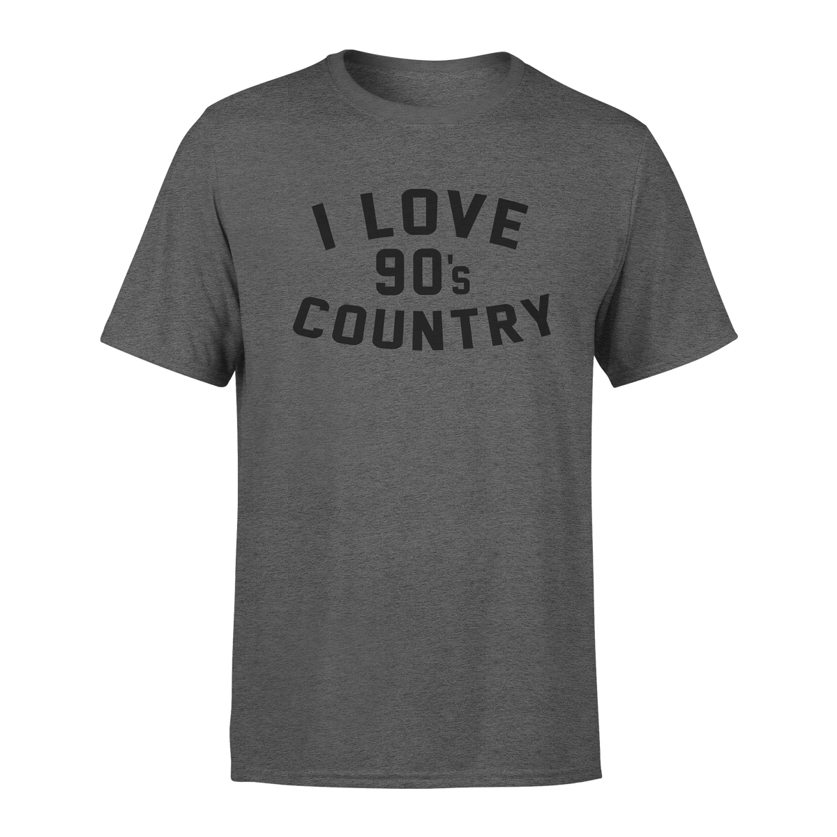 90's Country T-shirt – Heather Grey