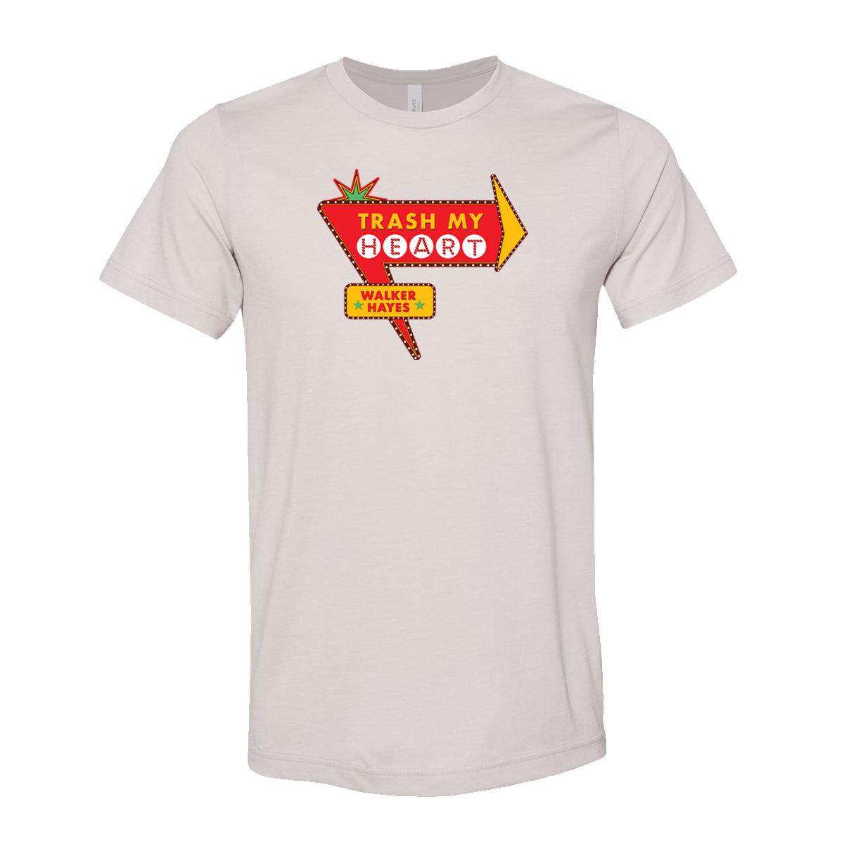 Walker Hayes Trash My Heart T-shirt