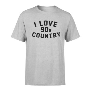 90's Country T-shirt – Heather White