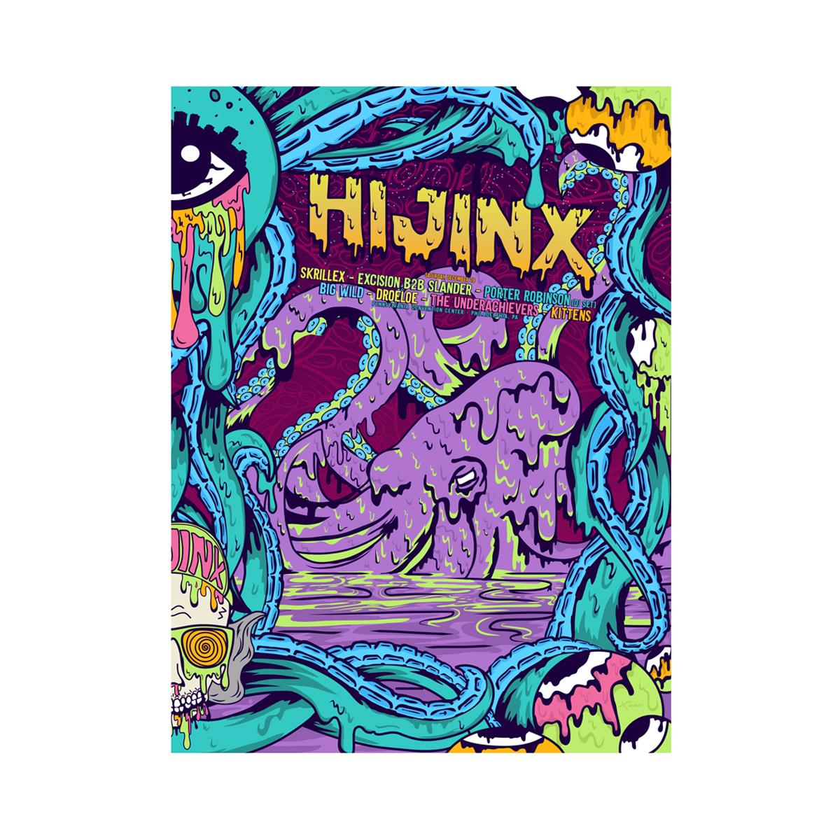 HiJinx 2019 Event Poster 12/28