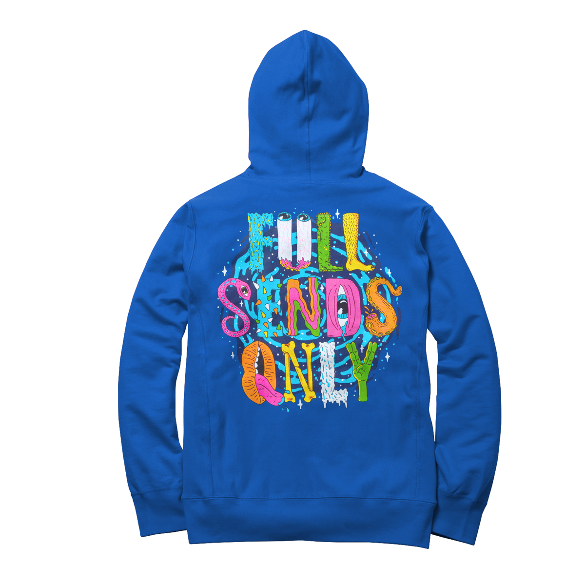 "Hijinx  - ""Full Sends Only"" Thin Hoodie"