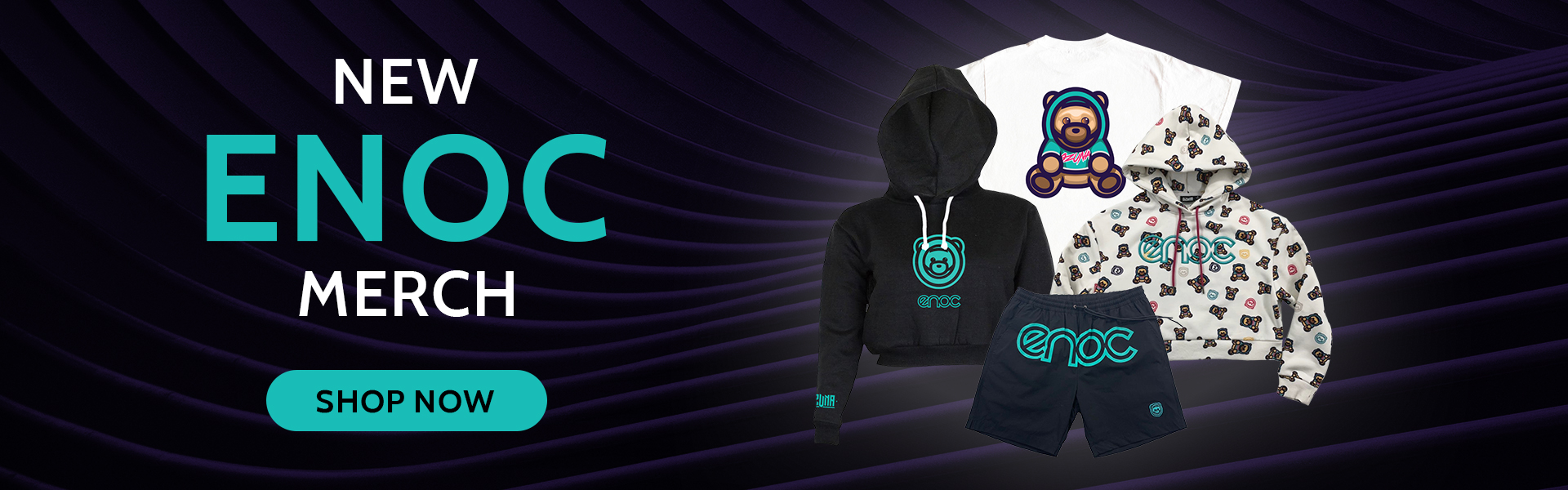 New ENOC Merch! Shop Now!