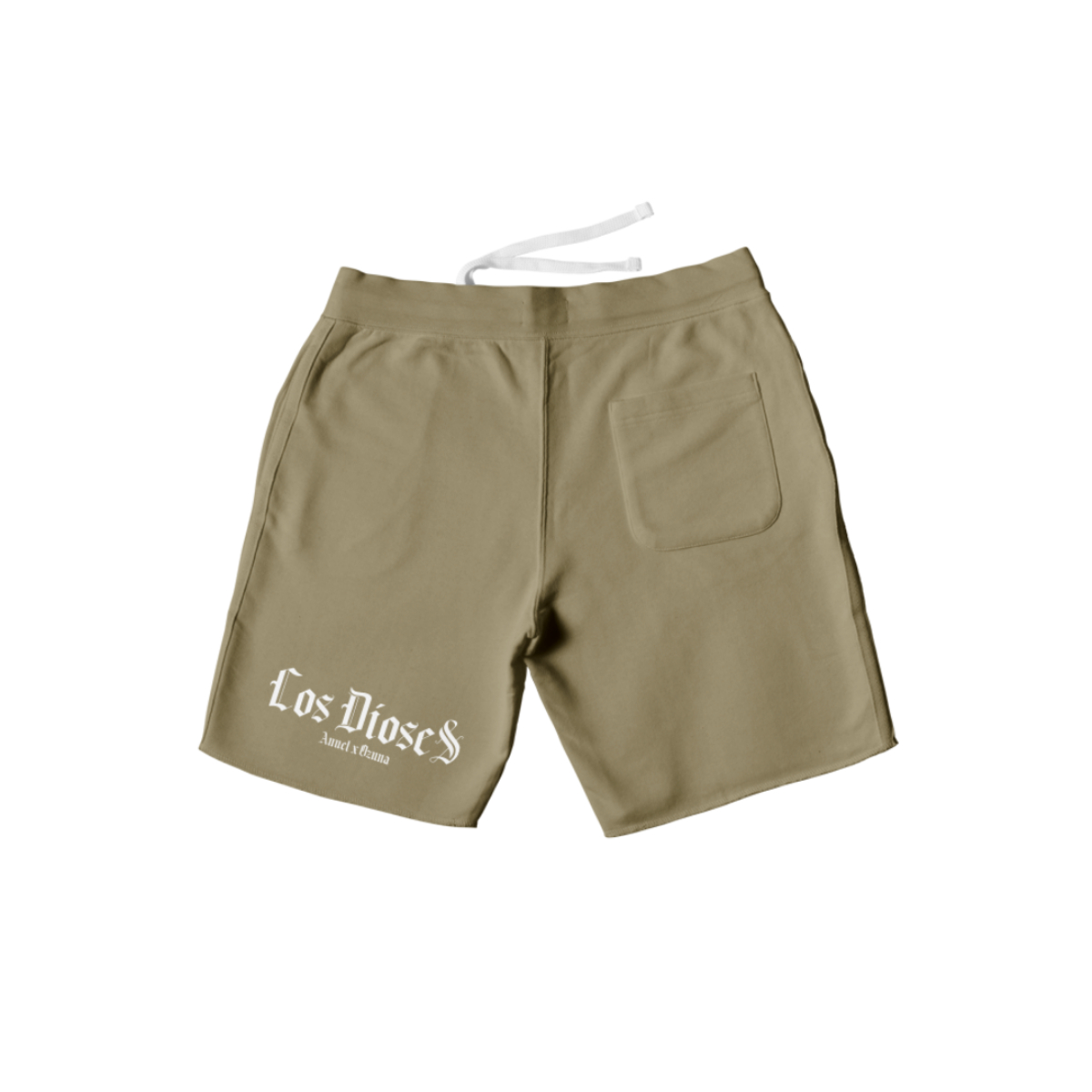 Los Dioses Beige Shorts