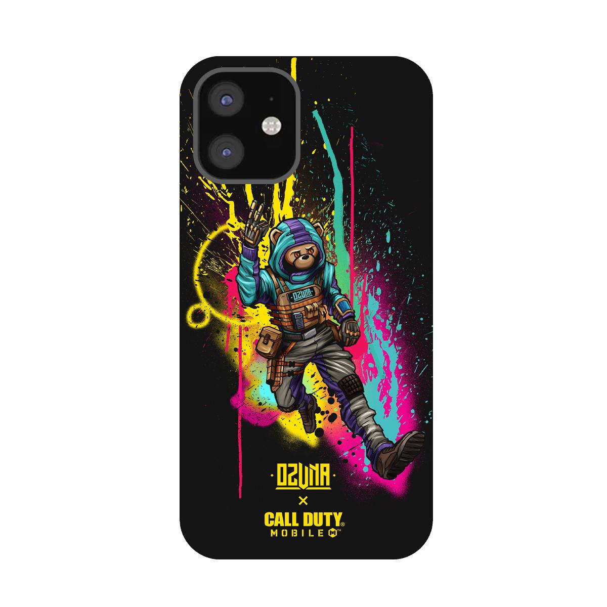 Ozuna x Call of Duty Black Flex Phone Case