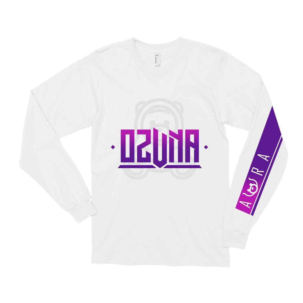 Ozuna Aura White Long Sleeve T-shirt