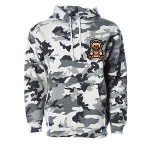 Ozuna Camo Bear Pullover Hoodie