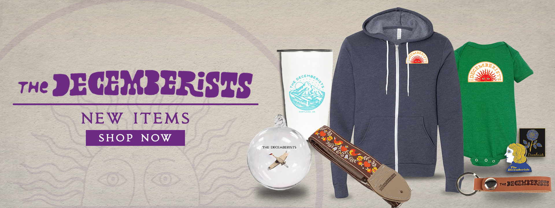 The Decemberists - 2019 Holiday Items - Shop Now