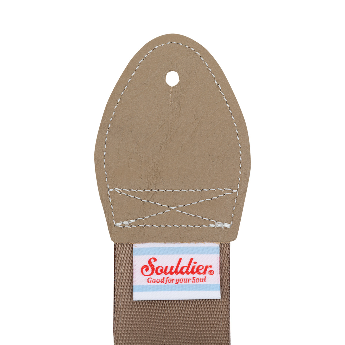 THE DECEMBERISTS SOULDIER LOVEBIRDS GUITAR STRAP - BROWN