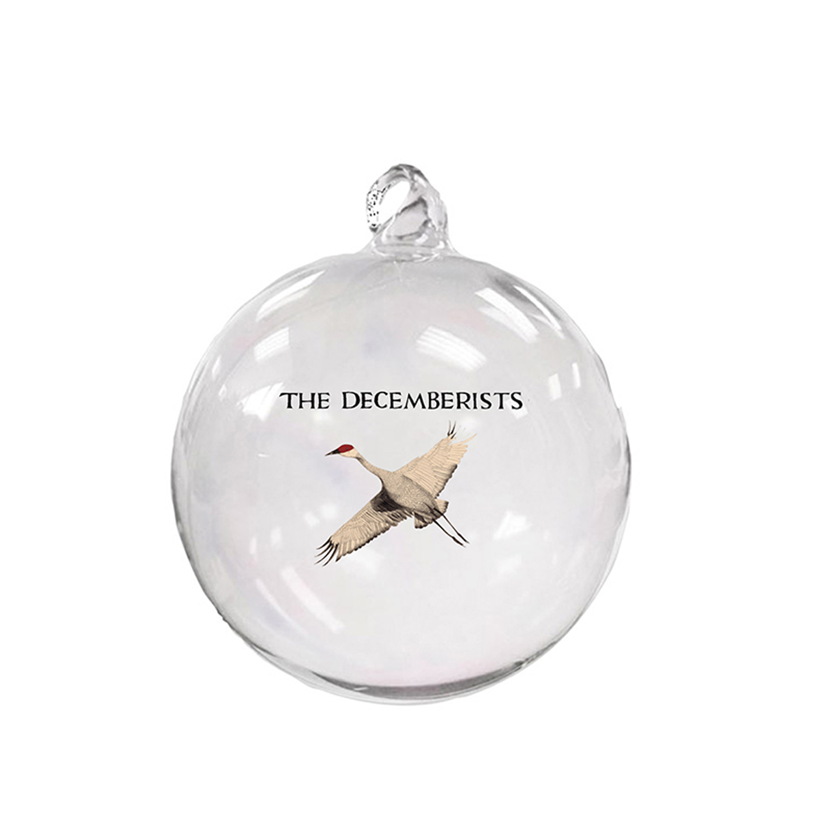 The Decemberists Glass Hand Blown Ornament