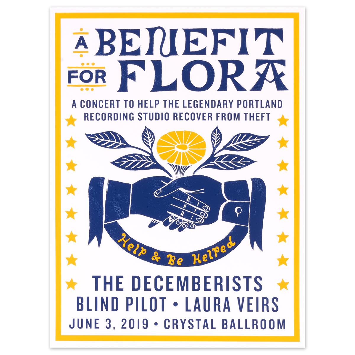 Flora Benefit Poster