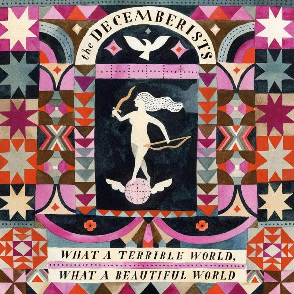 The Decemberists 'What a Terrible World, What a Beautiful World' CD