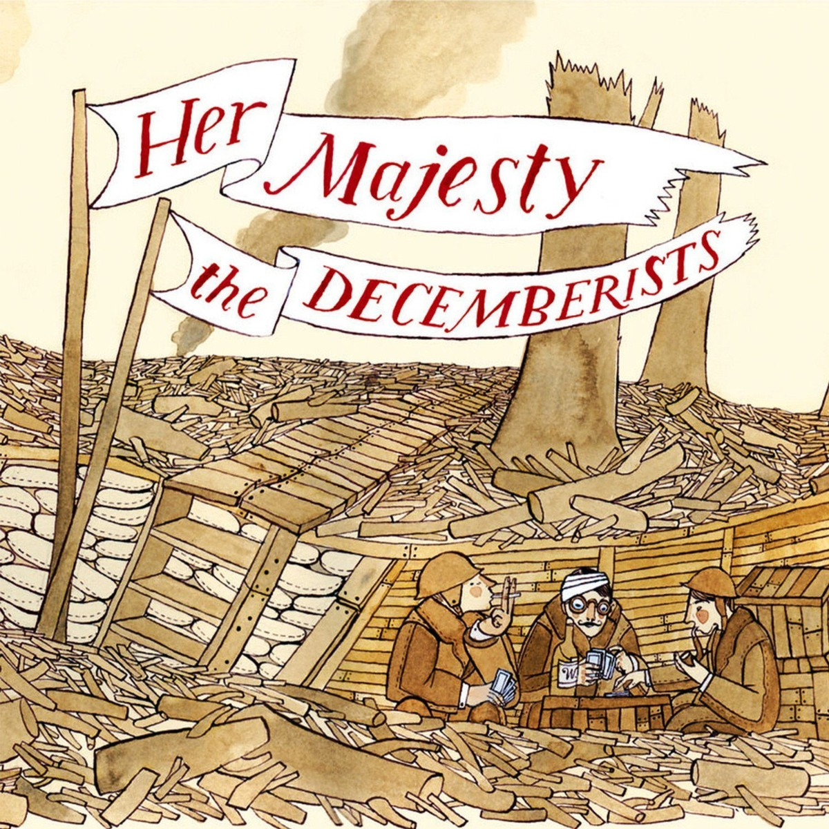 The Decemberists 'Her Majesty The Decemberists' CD
