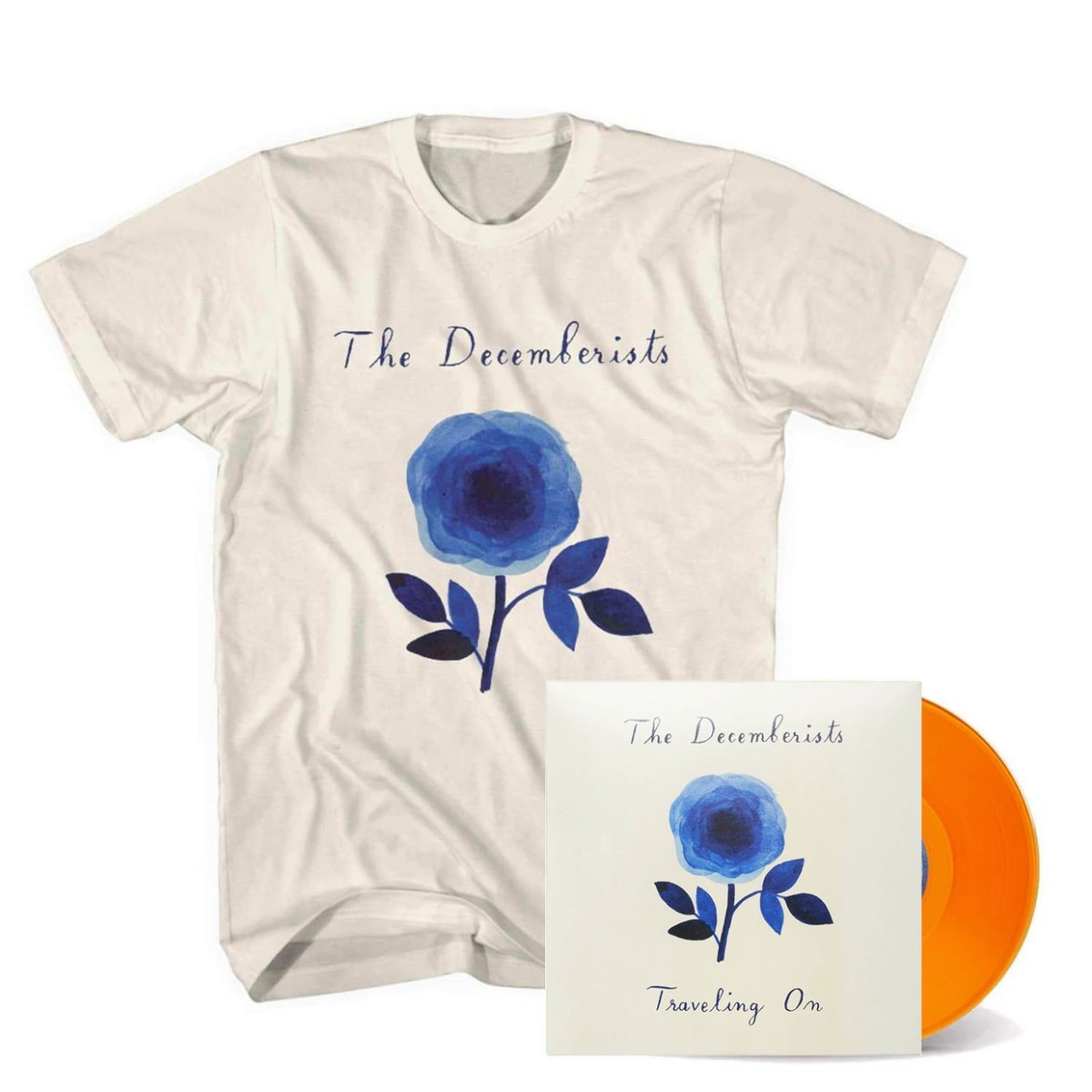"'Traveling On' EP 10"" Vinyl + T-Shirt Bundle"