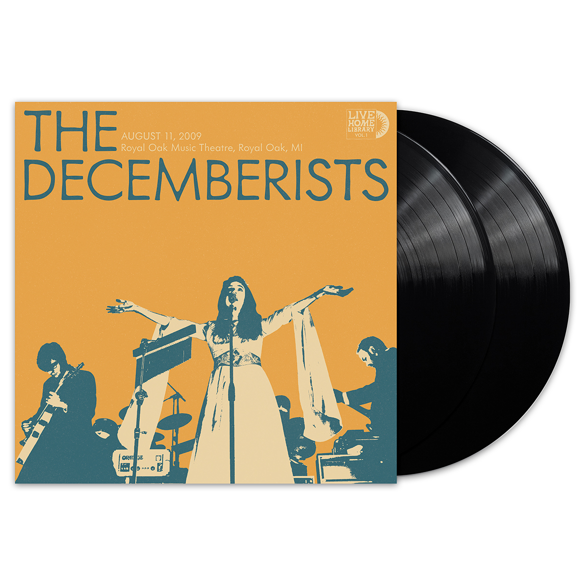 THE DECEMBERISTS - Live Home Library Vol I.  - Black Vinyl