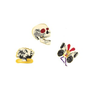The Decemberists' I'll be Your Girl' Pin Set