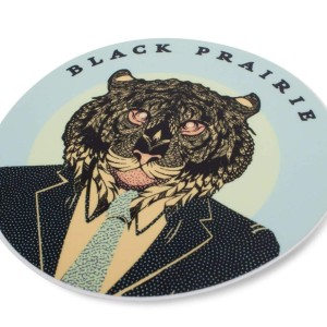 Black Prairie 'Tiger' Sticker