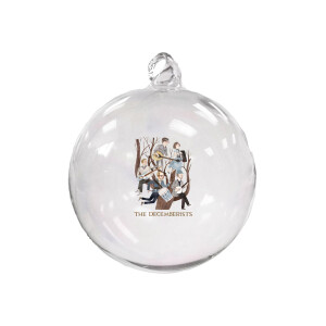 Decemberists in a Pear Tree Ornament