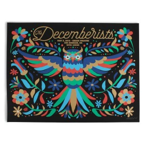 """The Decemberists at The Greek Theatre in Los Angeles 2015 Poster - 18"""" x 24"""""""