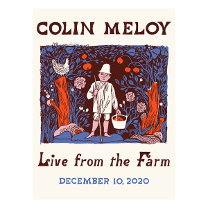 Colin Meloy Live From The Farm Poster