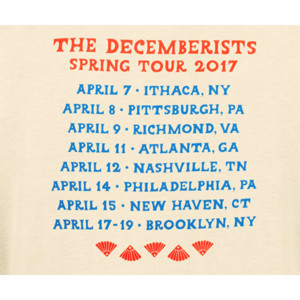 The Shuffling Off To Ragnaok Spring Tour 2017 Tee