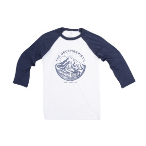 Mt. Rainier Baseball Tee