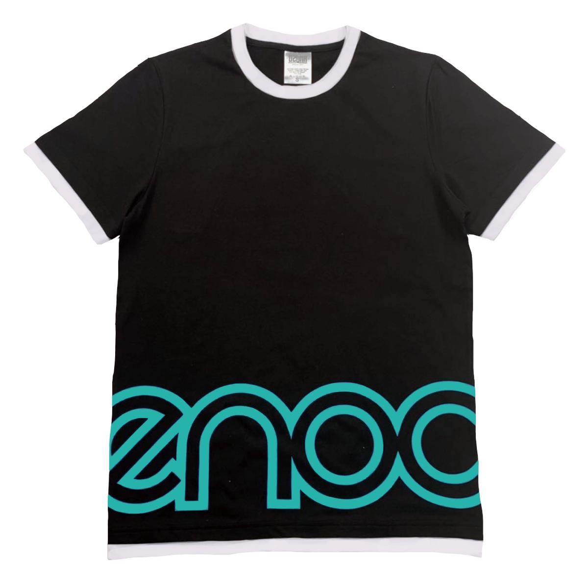 ENOC Camiseta de Timbre Negra