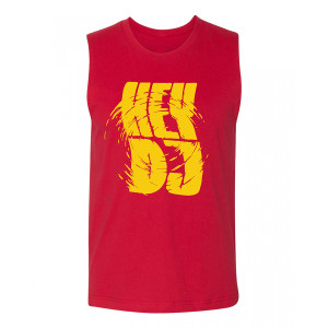 CNCO -Camiseta de tirantes Red Hey DJ Muscle