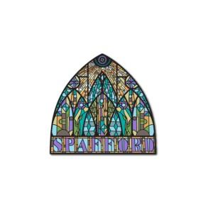 Chapel Jam Enamel Pin
