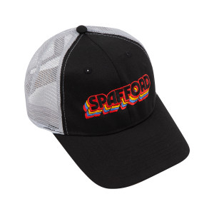 Spafford Logo Mesh Snapback Hat