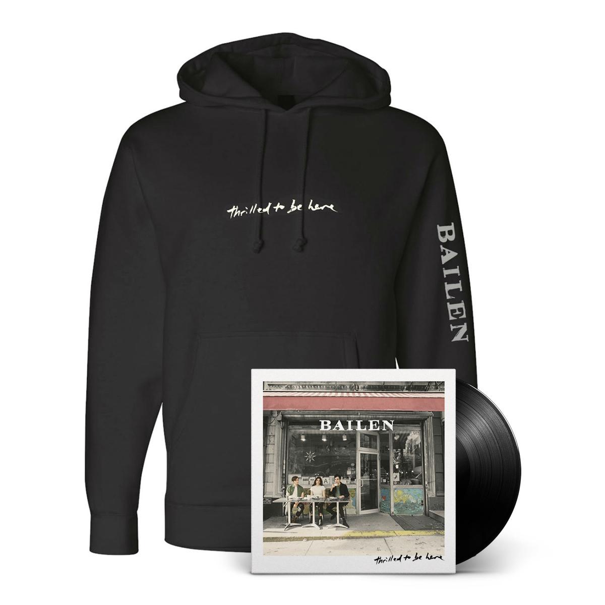 SIGNED LP + Hoodie