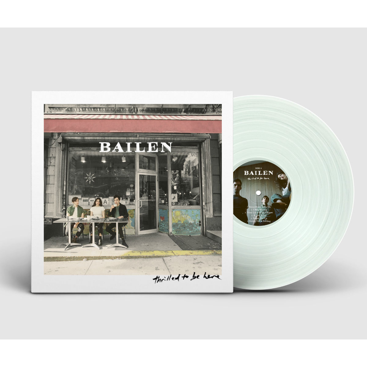 Limited Edition 'Coke Clear' LP