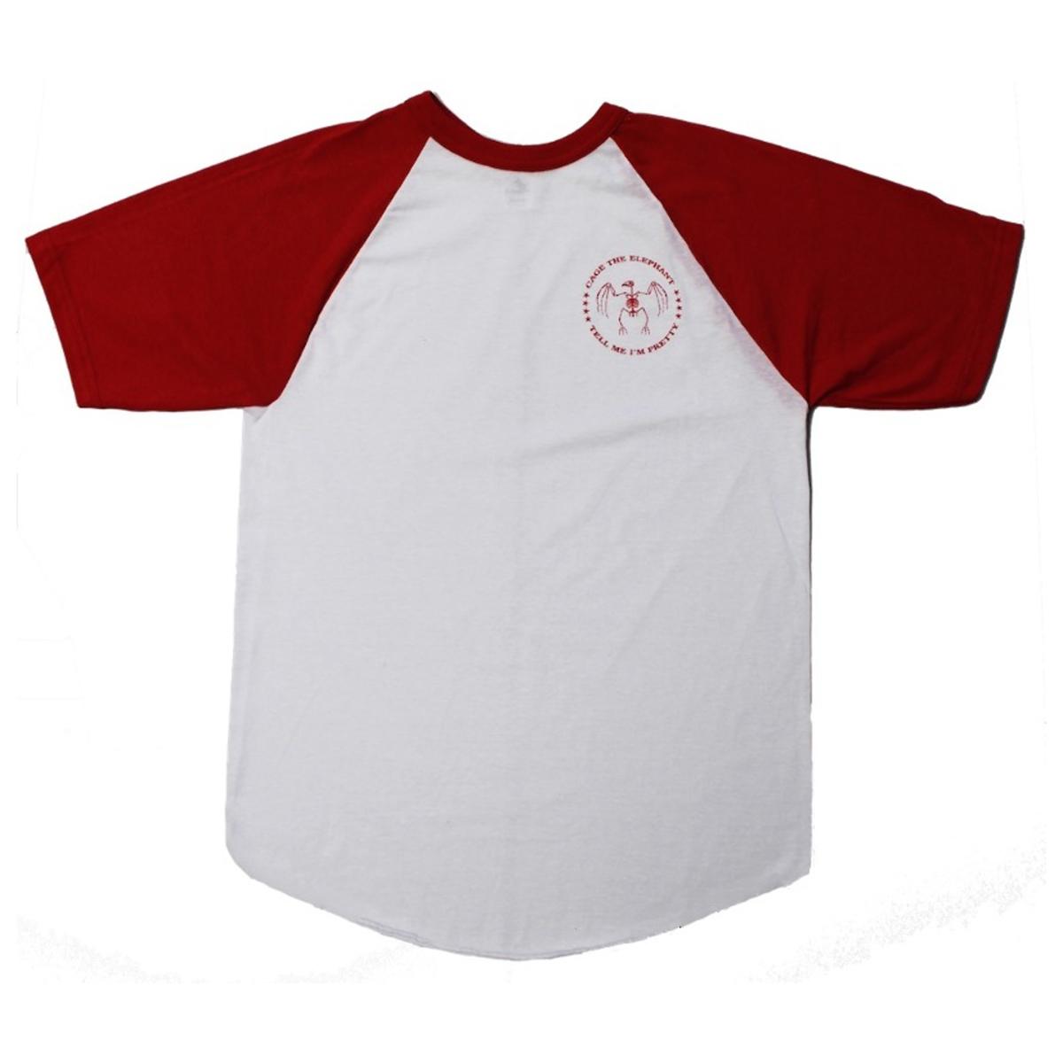 Skeleton Bird Raglan T-Shirt