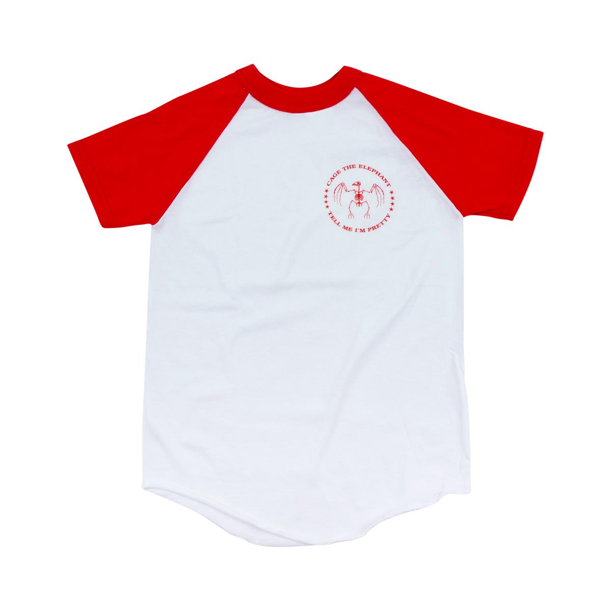 Skeleton Bird Raglan Kids T-Shirt